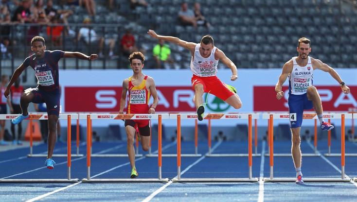 ME Berlin 2018: Mordyl odpadł w eliminacjach 400 m przez płotki