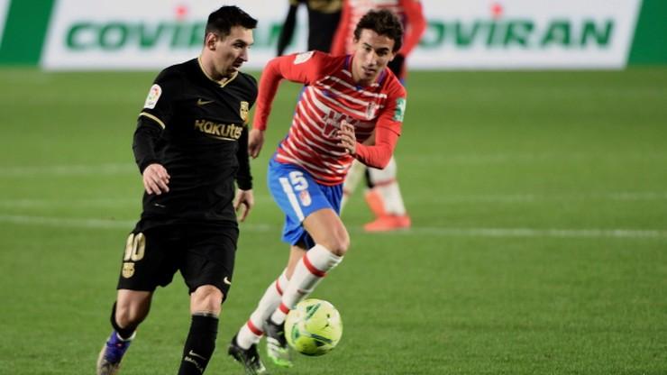 Wysoka wygrana Barcelony z Granadą. Popis Lionela Messiego i Antoine'a Griezmanna