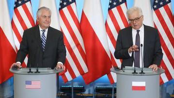 Sekretarz stanu USA: Polska i Stany Zjednoczone są przeciwne Nord Stream 2