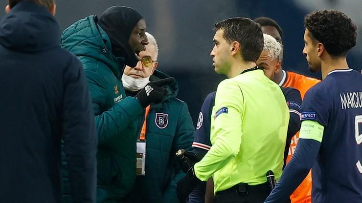 UEFA ukarała sędziów za incydent rasistowski w meczu PSG - Basaksehir
