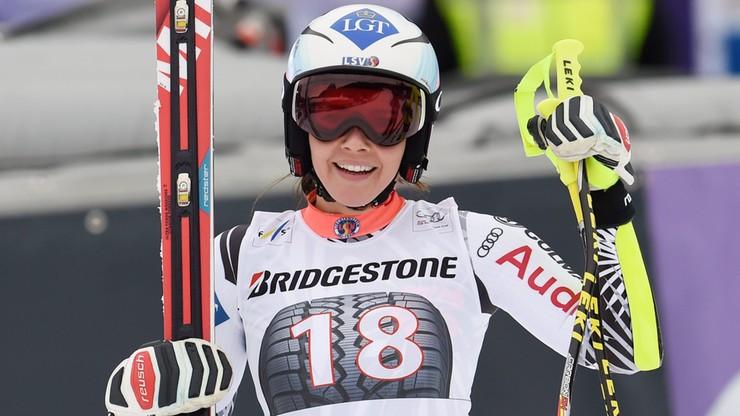 Tina Weirather wygrała supergigant w La Thuile