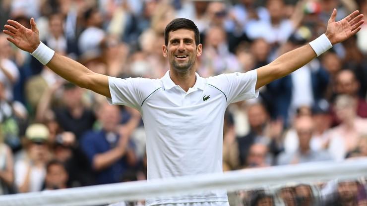 Wimbledon 2021. Novak Djokovic pokonał Matteo Berrettiniego w finale