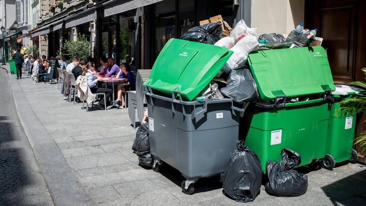Strajk śmieciarzy i kolejarzy we Francji. Na dzień przed Euro 2016
