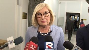 Kopcińska: jeżeli opozycja kwestionuje ustawę o SN, to dlaczego nie zgłosiła jej do TK