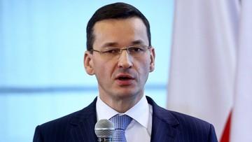 Morawiecki powołany na urząd ministra finansów