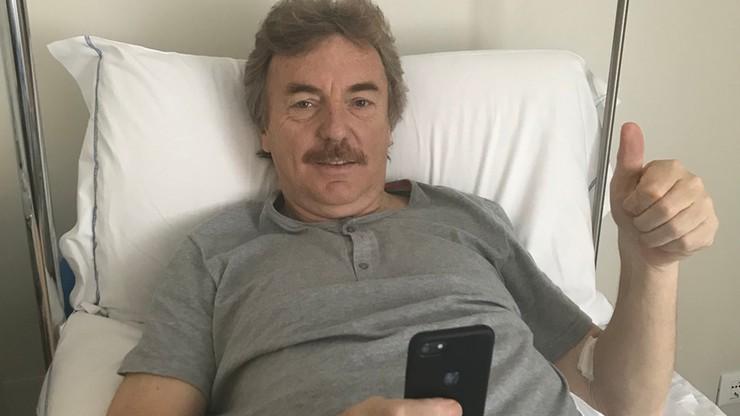 """Prezes PZPN już po operacji kolana. """"Wszystko ok. Gramy dalej"""""""