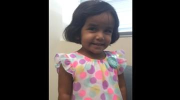 Odnaleziono ciało 3-letniej Sherin. Ojciec twierdził, że zaginęła. Teraz zmienił zeznania