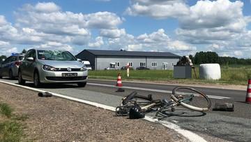 76-latek w volkswagenie śmiertelnie potrącił 84-letniego rowerzystę