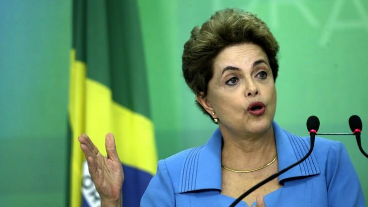 """Prezydent Brazylii nie składa broni. """"Jestem ofiarą, będę walczyć"""""""