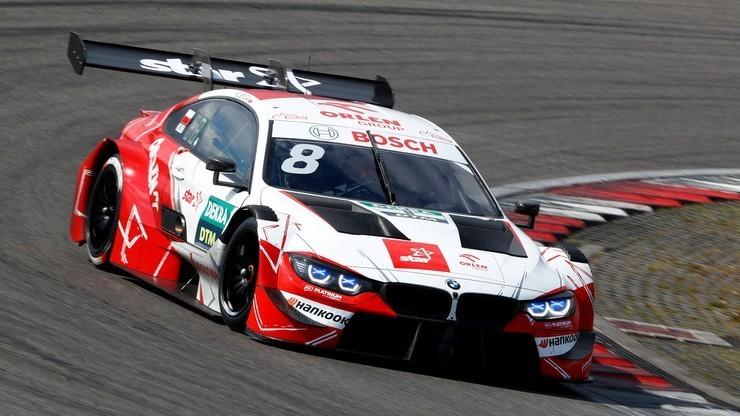 Seria DTM: Kubica 12. w kwalifikacjach do niedzielnego wyścigu