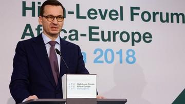 Premier Morawiecki: Afryka to potężny rynek, dobry także dla polskich firm