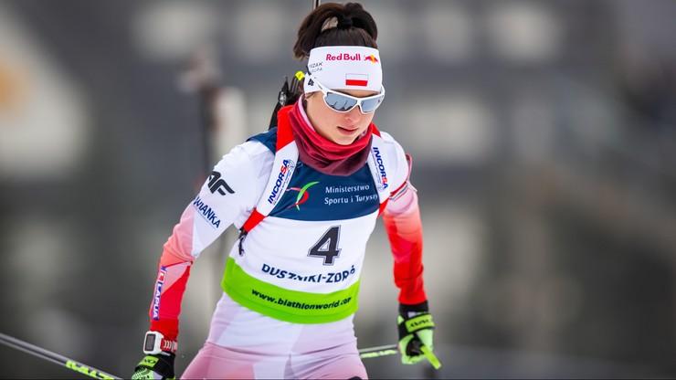 ME w biathlonie: Kamila Żuk mistrzynią Europy w biegu na dochodzenie