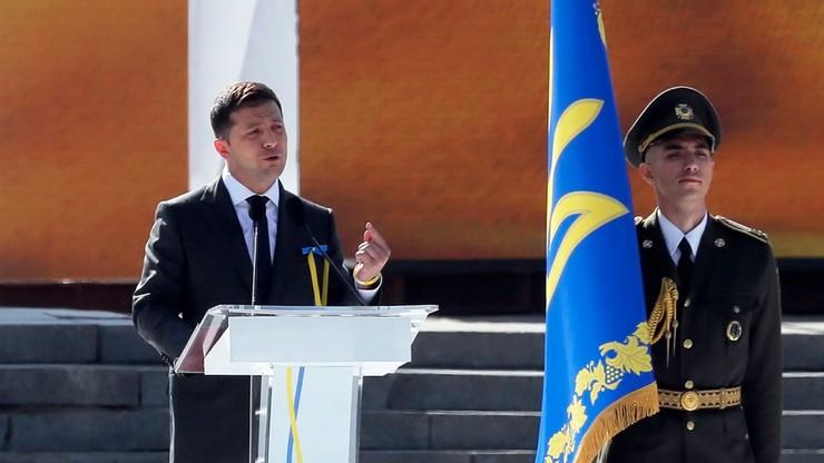 Prezydent Ukrainy ma zaproponować Andrzejowi Dudzie, jak wznowić ekshumacje ofiar rzezi na Wołyniu