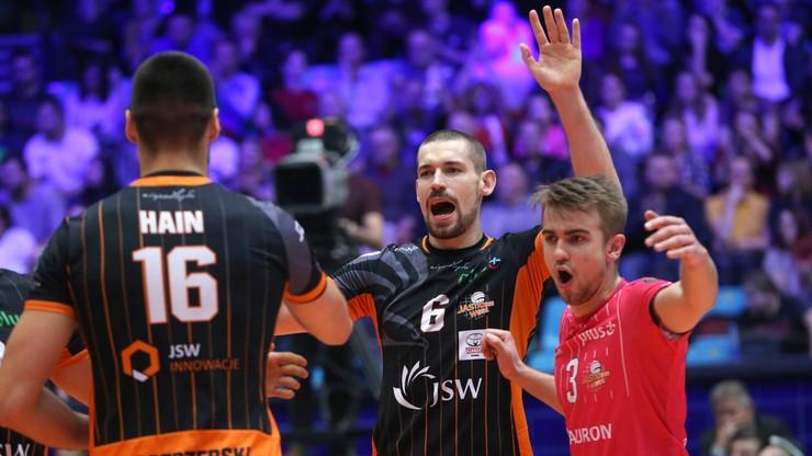 PlusLiga: PGE Skra Bełchatów - Jastrzębski Węgiel. Transmisja w Polsacie Sport