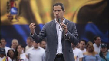 """Guaido wzywa armię do zakończenia """"uzurpacji"""" Maduro"""