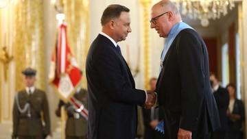 Prezydent odznaczył Orderami Orła Białego Cz. Bieleckiego, W. Kućmę i W. Siemaszkę