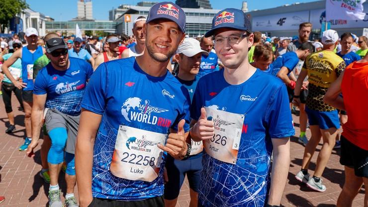 """""""Nerchio"""" przebiegł 16 kilometrów w charytatywnym biegu Wings for life"""