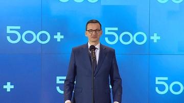 """Rząd przyjął projekt rozszerzenia programu """"500 plus"""" na pierwsze dziecko"""