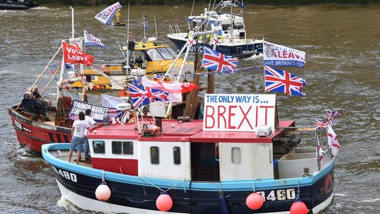 """""""Brytyjska wojna o Tamizę"""" ws. Brexitu. Interweniowała policja"""