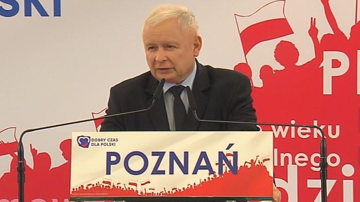 """""""Chcemy szkoły przygotowującej do życia także w sferze duchowej"""". Kaczyński na konwencji PiS"""