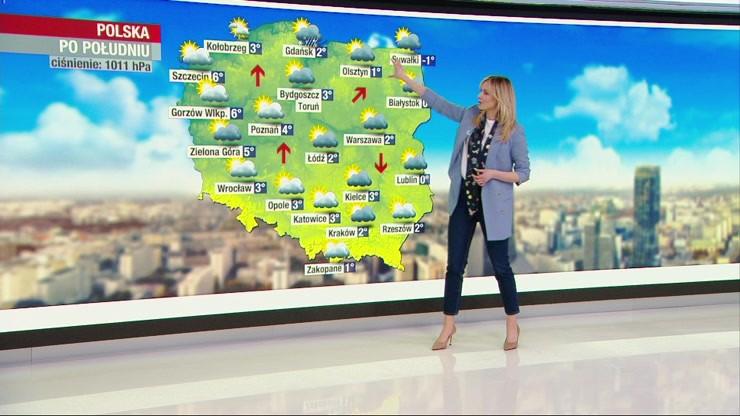 Prognoza pogody - wtorek, 9 marca - rano