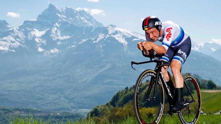 Giro d'Italia: Victor Campenaerts wygrał 15. etap