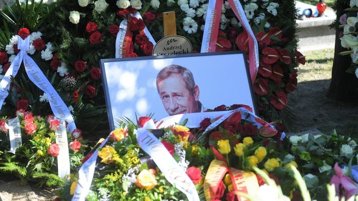 Pogrzeb Andrzeja Strzeleckiego. Aktor pośmiertnie odznaczony przez prezydenta