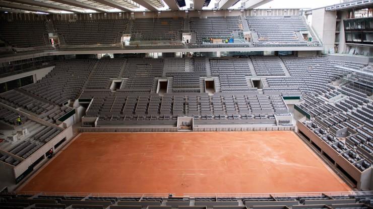 French Open: Na trybunach będzie mogło zasiąść tylko 5 tys. widzów