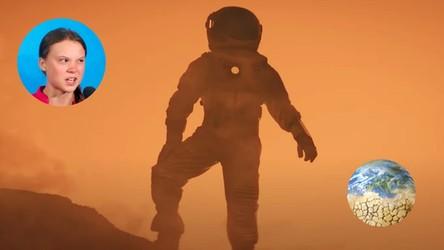 Greta Thunberg, podobnie jak Bill Gates, żartuje z ludzi, którzy marzą o podróży na Marsa