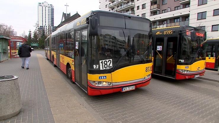 Kontrole kierowców warszawskich autobusów. Są pierwsze wyniki