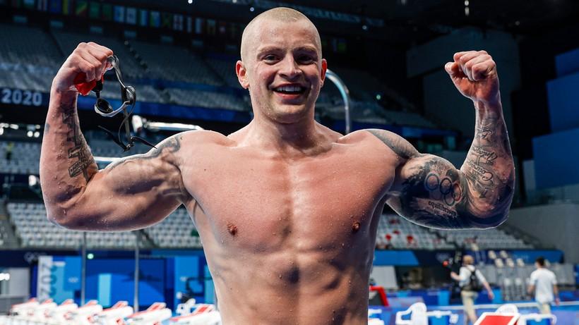 Tokio 2020: Adam Peaty zwyciężył na 100 m st. klasycznym