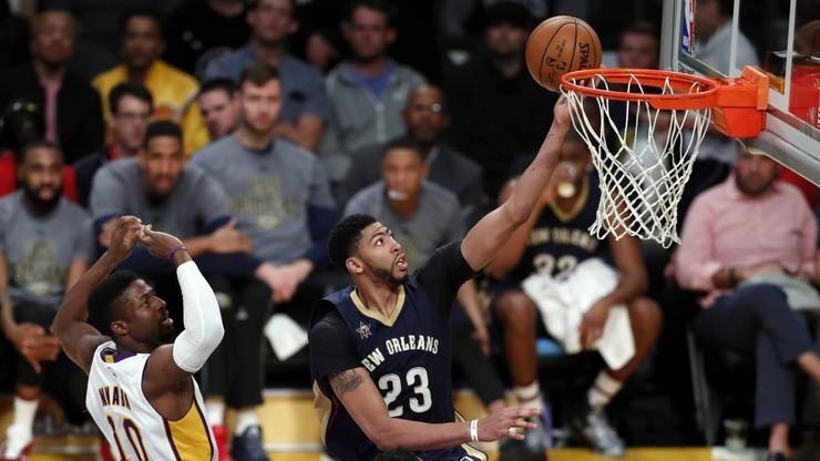 NBA: Davis bohaterem Pelicans, 13. wygrana z rzędu Rockets