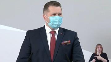 Testy na koronawirusa przed egzaminami? Minister edukacji wyjaśnia