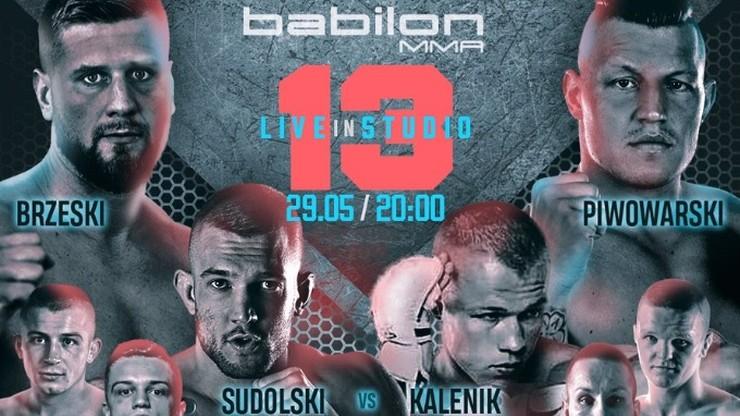 Babilon MMA 13: Karta walk