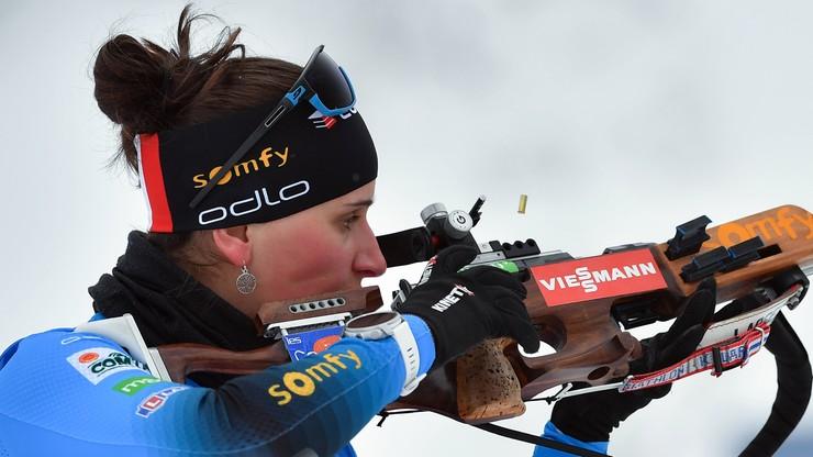 PŚ w biathlonie: Drugie w karierze zwycięstwo Julii Simon