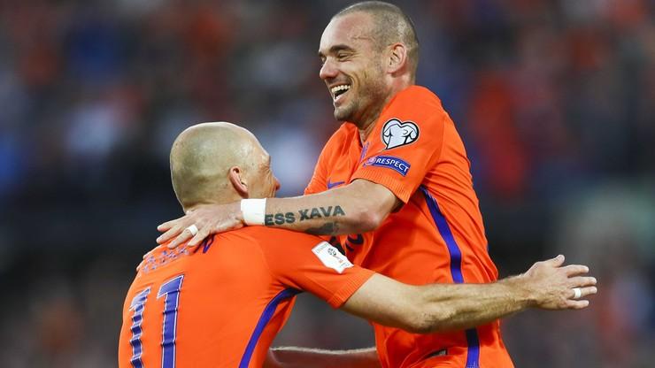 Sneijder pożegna się z reprezentacją Holandii