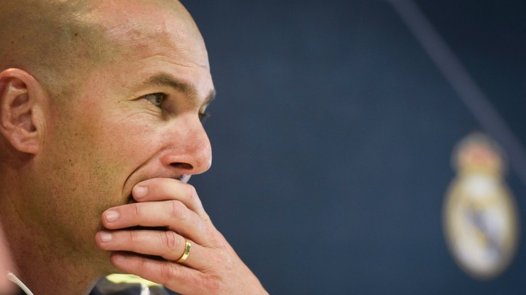 Bezdomny Zinedine Zidane