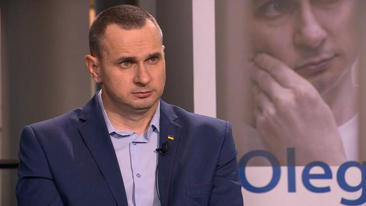 """""""Nie wierzę w uczciwość Putina, on chce nas wszystkich oszukać"""". Ołeh Sencow w Polsat News"""