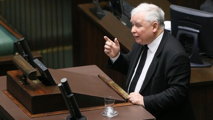 Kaczyński: myślę, że w historii zapiszę się bardzo ładnie