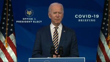 Biden przedstawił plan walki z koronawirusem. Skrytykował Trumpa