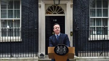 """""""Financial Times"""": Cameron wypunktował zwolenników Brexitu"""