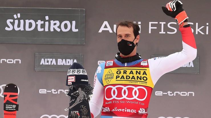Alpejski PŚ: Triumf Zenhaeuserna w slalomie w Alta Badia