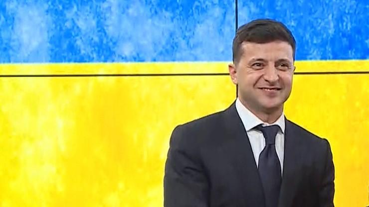 Prezydent Zełenski oskarżony o plagiat przemówienia Poroszenki