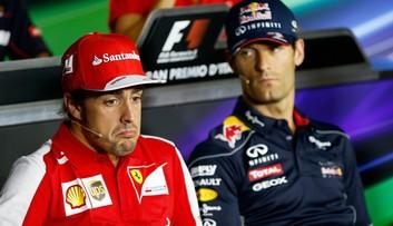 Formuła 1: Mark Webber przeciwny powrotowi Fernando Alonso
