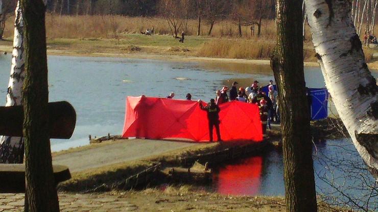 Zwłoki mężczyzny znaleziono w stawie w Siemianowicach Śląskich