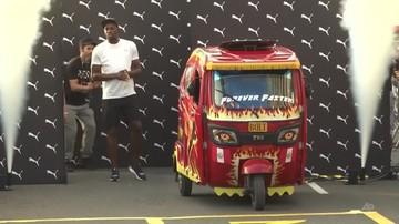 Usain Bolt szybszy od... peruwiańskiej taksówki motocyklowej [WIDEO]