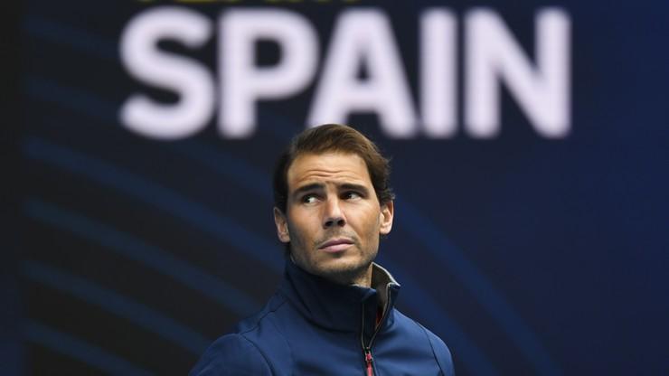 ATP Cup: Rafael Nadal nie zagrał w pierwszym meczu Hiszpanów z powodu urazu