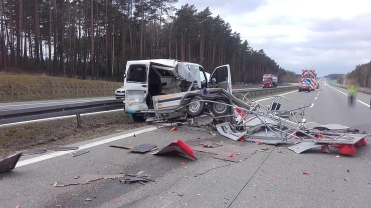 """""""Nie mam siedmiu żyć, omiń mnie bezpiecznie!"""" - apelują do kierowców pracownicy autostrady A2"""