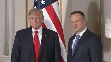"""Prezydent Trump zadzwonił do prezydenta Dudy. """"Rozmowa trwała kilkanaście minut"""""""