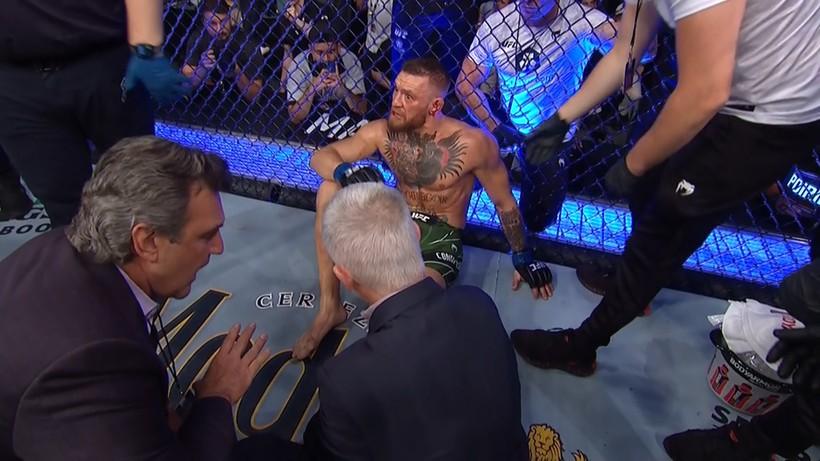 UFC 264: McGregor - Poirier 3. Dustin Poirier znów górą! Fatalna kontuzja Conora McGregora